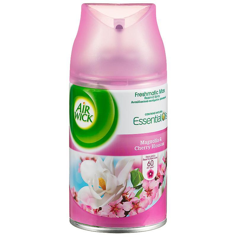3 X Air Wick Freshmatic Max Automatic Spray Refill 250Ml - Magnolia & Cherry Blossom