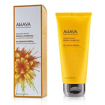 Ahava Deadsea Water Mineral Shower Gel - Mandarin & Cedarwood - 200ml/6.8oz