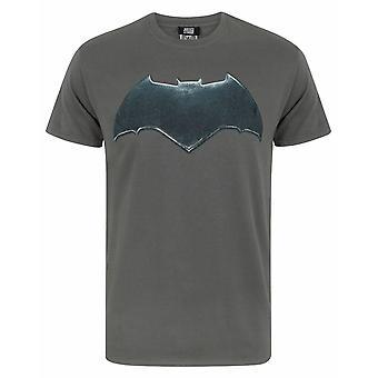 ליגת הצדק של באטמן לוגו גברים ' חולצת טי