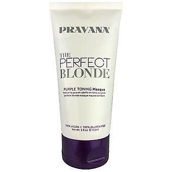 Pravana de perfecte blonde paarse toon haarmasker 5 oz.