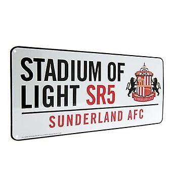 Sunderland-Straßenschild