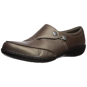 Clarks Womens Ashland Lane Q Leather Closed Toe Loafers