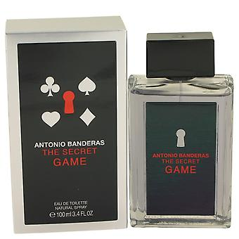 The Secret Game by Antonio Banderas Eau De Toilette Spray 3.4 oz / 100 ml (Men)