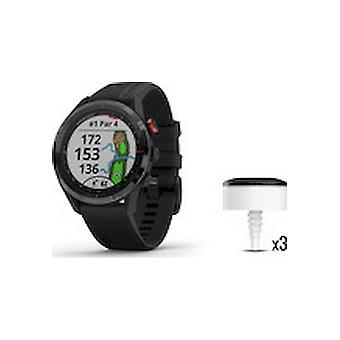 Garmin - SmartWatch - Unisex - Golf Watch Approach S62-CT10 Bundle