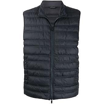 Ermenegildo Zegna Vt053zz080b09 Men's Blue Nylon Vest