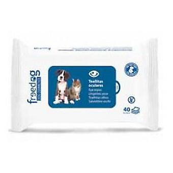 Freedog 40 pcs 28x18cm wipes eyepieces 45 gr. (Dogs , Grooming & Wellbeing , Eye Care)