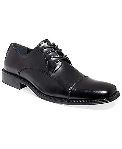 Alfani Men-apos;s Adam Cap Toe Oxford Black