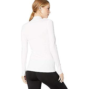 Starter Women's Compression Mockneck Top,  Exclusive, White, M