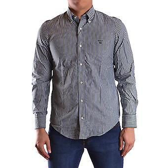 Gant Ezbc144072 Men's Green Cotton Shirt