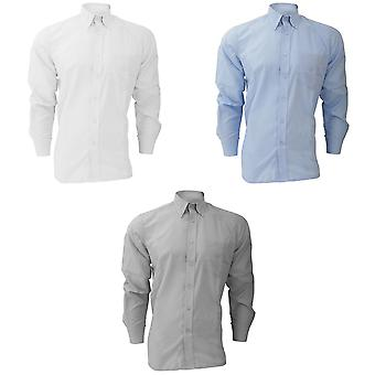 Dickies Long Sleeve Cotton/Polyester Oxford Shirt / Mens Shirts