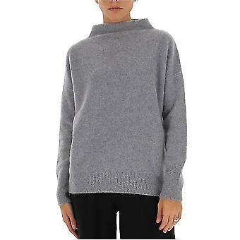 Vince Vs75377674067mhg Women's Grey Cashmere Sweater