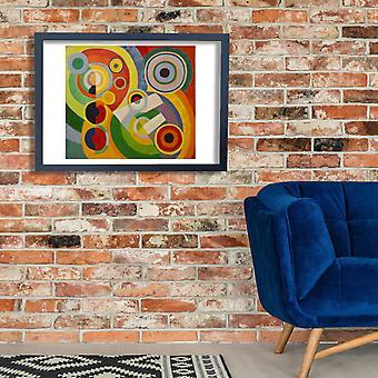 Robert Delaunay - Rythme Joie de vivre Poster Print Giclee
