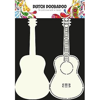 Hollandsk Doobadoo hollandsk kort Kunst Stencil guitar A4 470.713.613