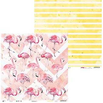 Piatek13 - Paper Let's flamingle 01 P13-270 12x12