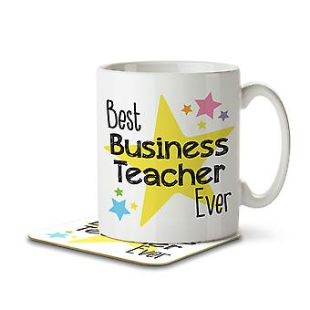Best Business Teacher Ever - Mug and Coaster