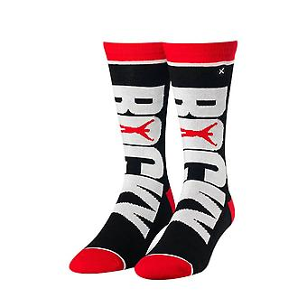 Rocky Movie Logo Sublimated 360 Crew Socks