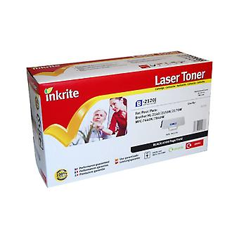 Cartouche Laser Toner Inkrite compatible avec Brother TN2120 Black (Jumbo-Cap)