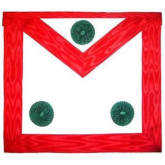 Knight mason apron red