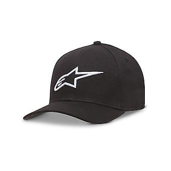 Alpinestars Ageless Curved Brim Cap in Black/White