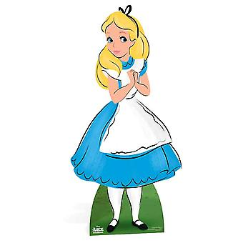 Alice van Alice In Wonderland Disney Lifesize Kartonnen Cutout / Standee / Stand Up