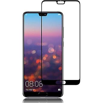 Huawei P20 Pro comprehensive screen protection hardened glass - black