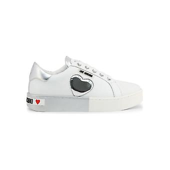Love Moschino - Shoes - Sneakers - JA15023G1AIF_310B - Ladies - white,silver - EU 35