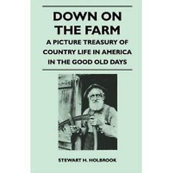 Down on the Farm  A Picture Treasury of Country Life in America in the Good Old Days by Holbrook & Stewart H.