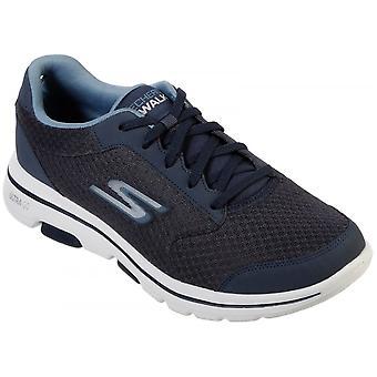 Skechers Gowalk 5 Kwalifikują Lace Up Sports Textile / syntetyczne standardowe buty do montażu