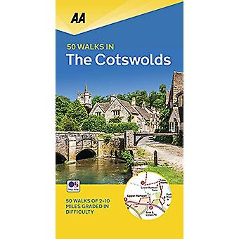 50 Walks in the Cotswolds - 9780749581176 Book