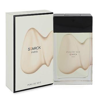 Peau De Soie Eau De Toilette Spray (Unisex) par Starck Paris 3 oz Eau De Toilette vaporisateur