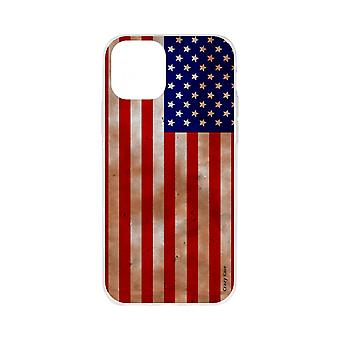 Powłoka dla iPhone 11 Pro Elastyczny wzór American Flag