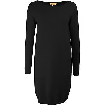 Yellow Label Black Fine Knit Dress