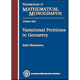 Variational Problems in Geometry by Seiki Nishikawa - 9780821813560 B