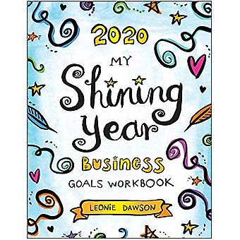2020 My Shining Year Business Goals Workbook by Leonie Dawson - 97819