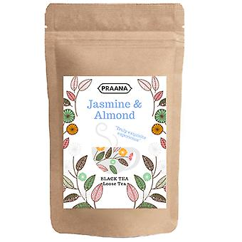 Praana Tea -black Tea With Jasmine Buds & Almond Flavour-catering Pack
