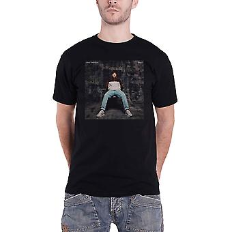 Louis Tomlinson T Shirt Walls Cover Logo new Official Mens Black