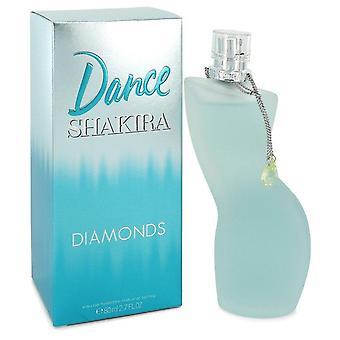 Shakira Dance Diamonds Eau De Toilette Spray By Shakira 2.7 oz Eau De Toilette Spray
