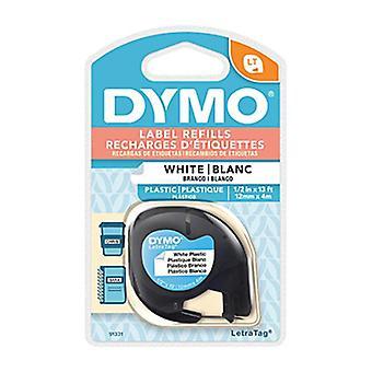 Dymo Lt Plastique 12 Mm X 4 M Whit
