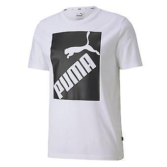 プーマビッグロゴティー58138602ユニバーサルサマーメンTシャツ