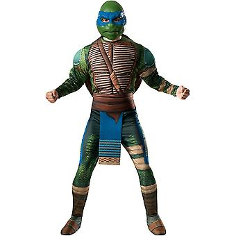 Teenage Mutant Ninja Turtles 2 Leonardo Adult Costume