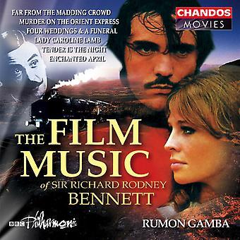 R.R. Bennet - The Film Music of Sir Richard Rodney Bennett [CD] USA import