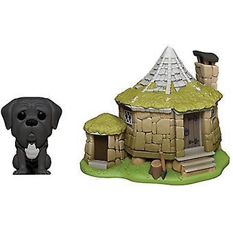 Harr Potter - Hagrid's Hut W/ Fang USA import