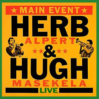Alpert, Herb / Masekela, Hugh - Main Event (Live) [CD] USA import