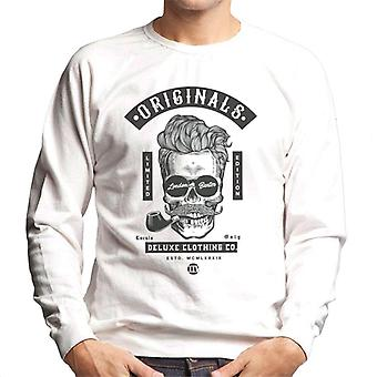 Lontoon Banter Originals Hipster Skull miesten ' s College pusero