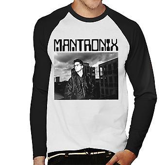 Mantronix Kurtis Shot Men's Baseball Long Sleeved T-Shirt