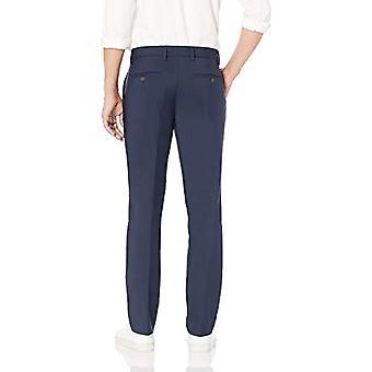 Goodthreads Men's Slim-Fit Stretch Performance Chino Pant, Navy, 28W x 28L