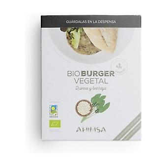 Bio Burger Vegetable Quinoa Borage 2 units of 80g