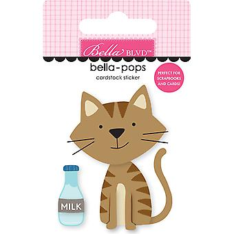 Bella Blvd Tabby Cat Bella-Pops (2pcs) (BB2282)
