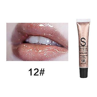Candy Color Waterproof Lip Gloss Makeup Long Lasting Glitter Liquid Lipstick For Cosmetics Women