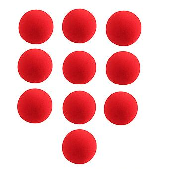 Red Sponge Balls - Magic Props Clown Nose Tricks